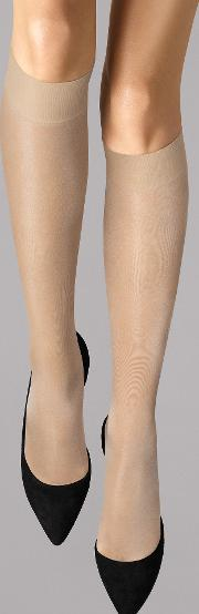 Wolford , Satin Touch 20 Knee Highs 2401 S