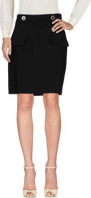 Versace Collection , Skirts Knee Length Skirts Women