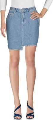 Eleven Paris , Denim Denim Skirts Women