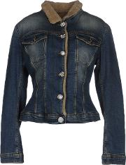 Fornarina , Denim Denim Outerwear Women