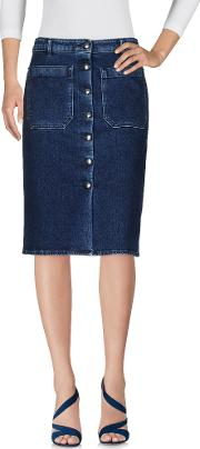 The Seafarer , Denim Denim Skirts Women