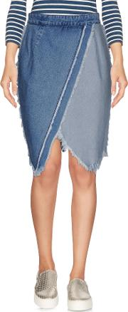 Tpn , Denim Denim Skirts Women