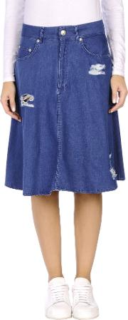 Won Hundred , Denim Denim Skirts Women
