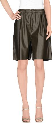 Roberto Collina , Trousers Bermuda Shorts Women