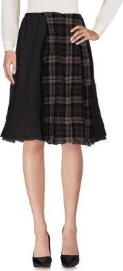 Daniela Gregis , Skirts Knee Length Skirts Women