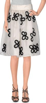 Jupe By Jackie , Skirts Knee Length Skirts